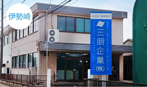 伊勢崎工場外観