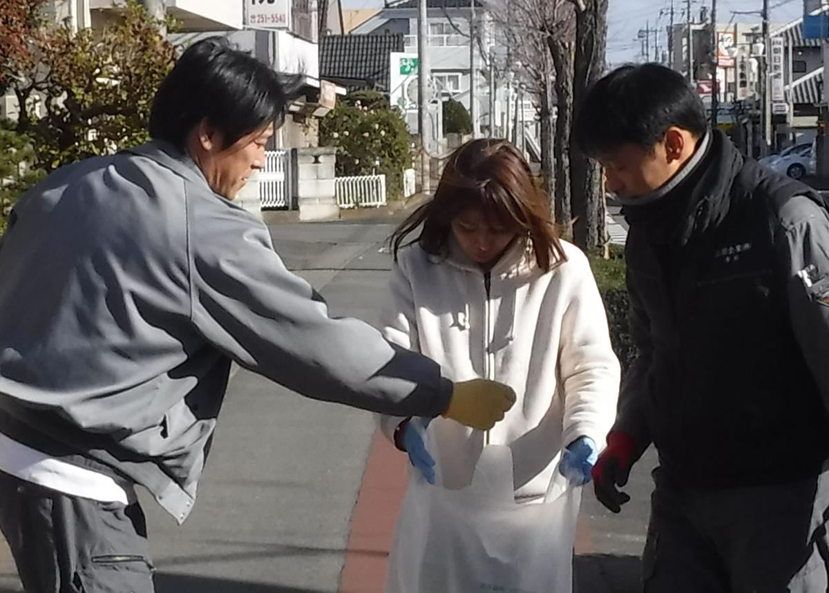 前橋・伊勢崎 地域清掃活動